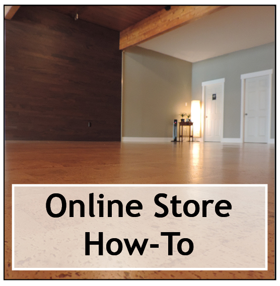 Click here for step-by-step instructions for using the online store