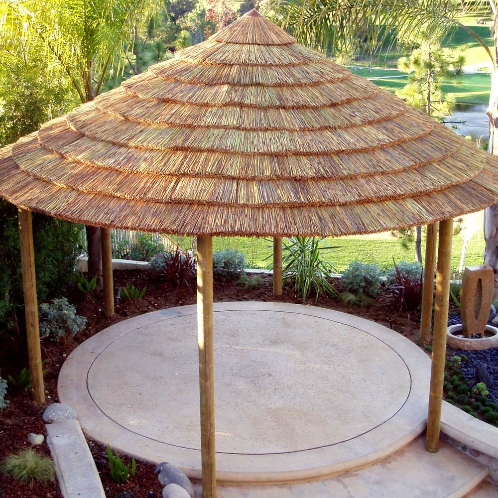 Safari Thatch: 16′ GAZEBO