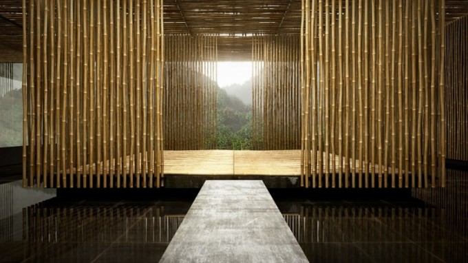 appealing-square-shaped-room-space-idea-yoga-space-modern-resort-design-bamboo-wall-panels-680x382.jpg