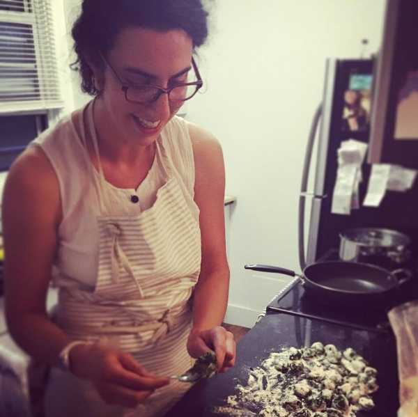 Anna Feldman / Chef - Anna brings to the team years of culinary experience as well as multiple seasons farming in New England. Her experience as a farmer has informed the way she interacts with food and cooking as a dynamic relationship between season, location and community.