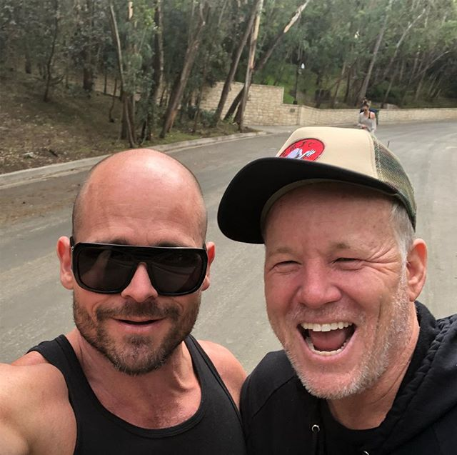 Catching up with @murphyphoto and planning collaborations while hiking, holy shit we are so LA 😂 • • • • • #personaltrainer #hollywood #weightloss #losangeles #fitness #bodybuilding #functionaltraining #naturalbodybuilding #body #fit #fitfam #fitness #gay #instagay #instagood #evolution #expansion #NewThought #loa #nasm #nasmcertified #balance #mindbody #instafit #nopainnogain #gym #gymlife #gymtime #friends #tvhost