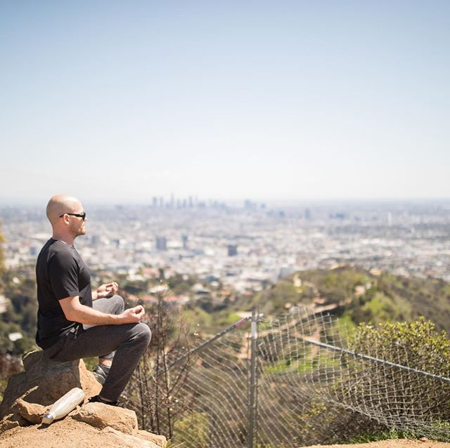 I love hiking up Runyon all the time, but especially after it has rained. The air in LA is clear, the hills are great, and you can see the ocean... this is the spot where I have been meditating for 13 years since I first moved here... where's your favorite place to connect? • • • • • #personaltrainer #hollywood #weightloss #losangeles #fitness #bodybuilding #functionaltraining #naturalbodybuilding #body #fit #fitfam #fitness #gay #instagay #instagood #evolution #expansion #NewThought #loa #nasm #nasmcertified #balance #mindbody #instafit #nopainnogain #gym #gymlife #gymtime #hiking #meditation