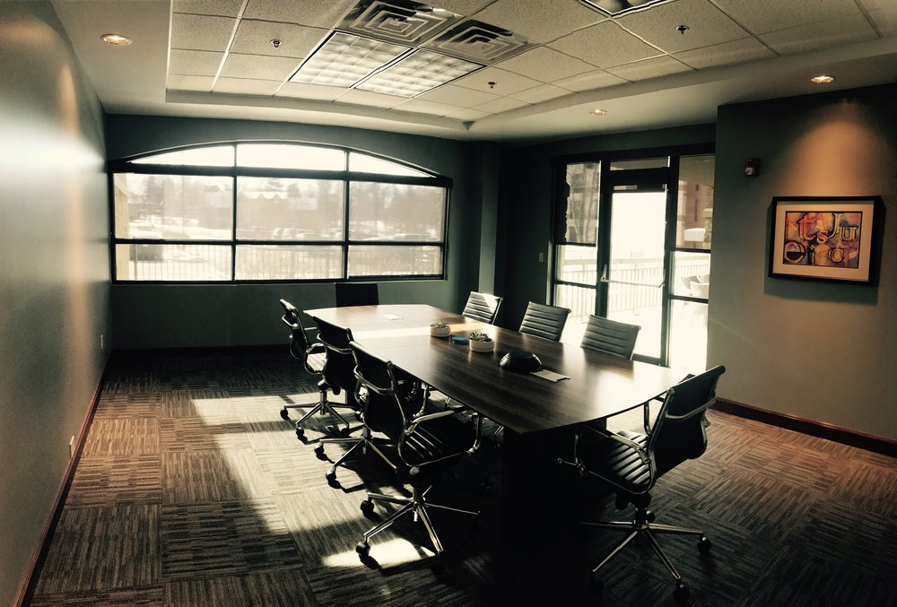 One of our two conference rooms.