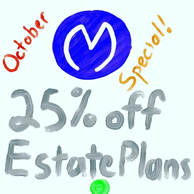Hey folks we're running a special this month! We can put together an affordable #estateplan tailored specifically to your family's needs in only one or two visits. #peaceofmind #octoberspecial #youlooklikeyouneedawill #omaha #nebraska