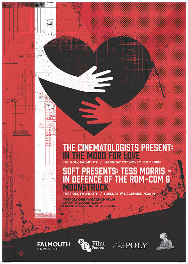Poster for the screening of In The Mood For Love by Monika Ciapala