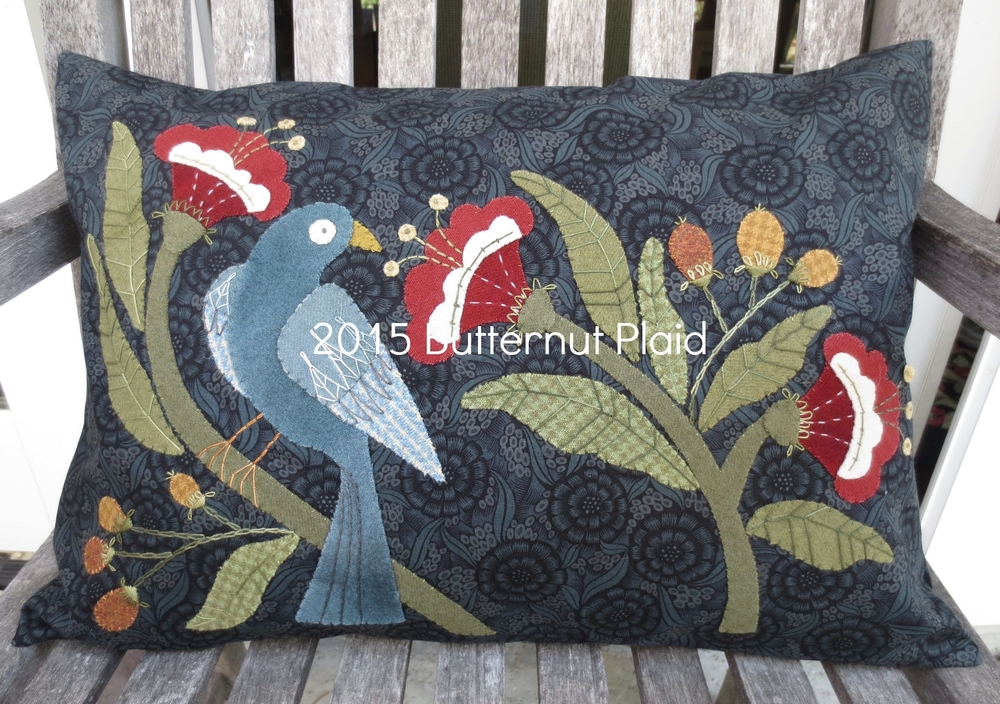 William Morris Inspired Pillow.jpg