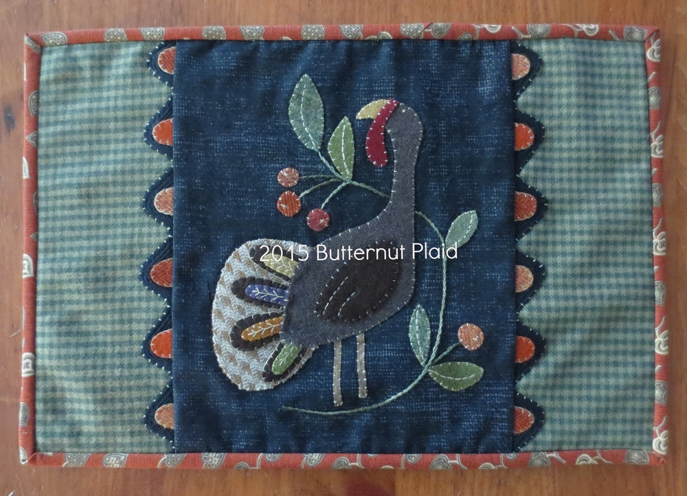 Gobble Gobble table mat