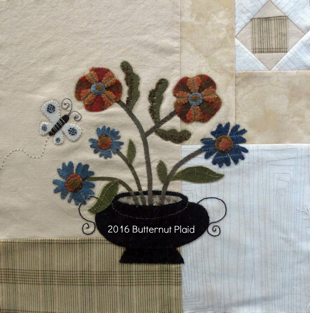 Flowers From My Garden Mystery Quilt - Block #1