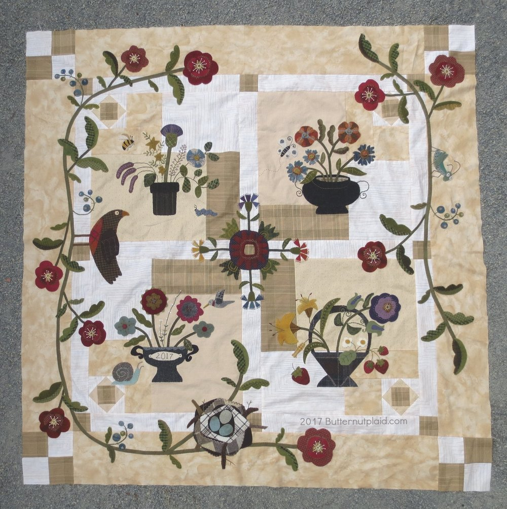 Flowers From My Garden Mystery Quilt