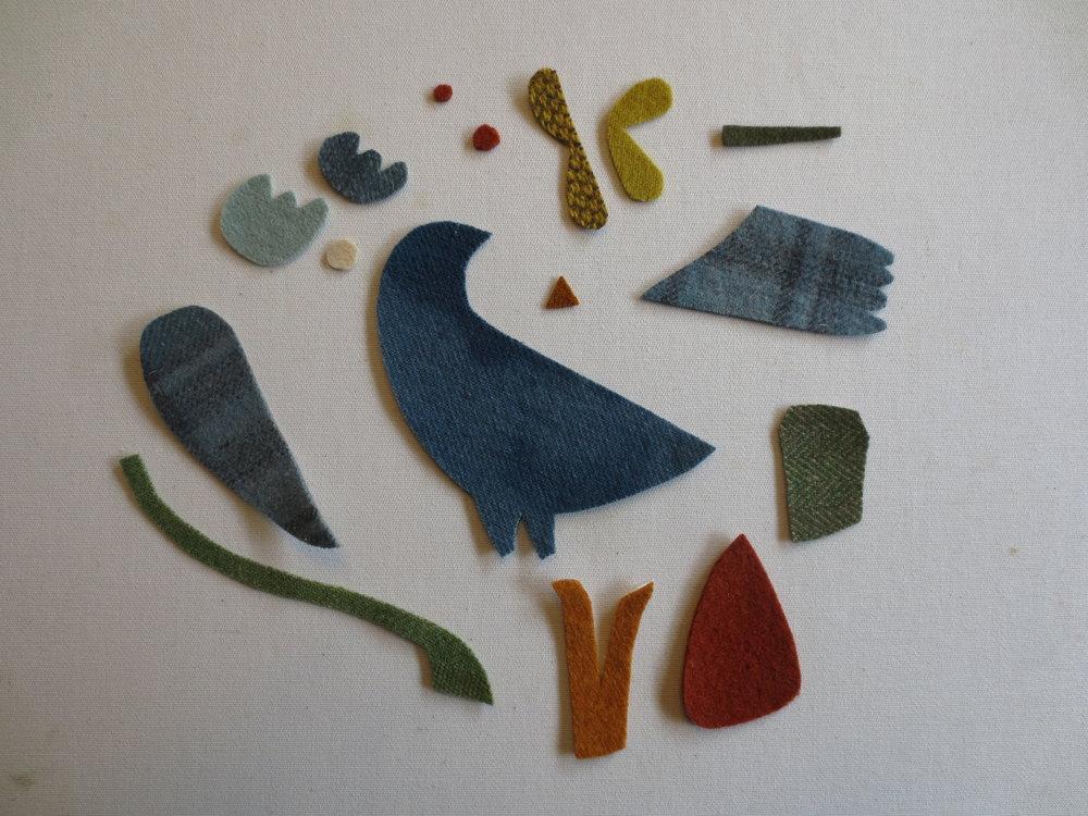 Signs of Spring wool pattern pieces.JPG