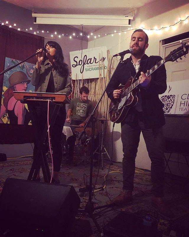 Thank you @sofarsac for a wonderful night of music! #sofarsounds #livemusic #livingroom #sacremento #musicianlife