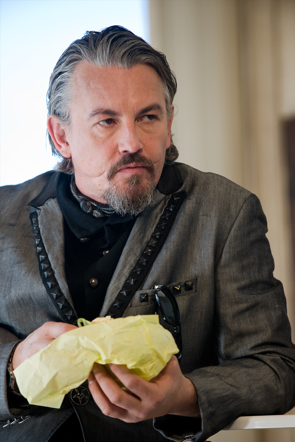 Tommy Flanagan in Swifty and Veg