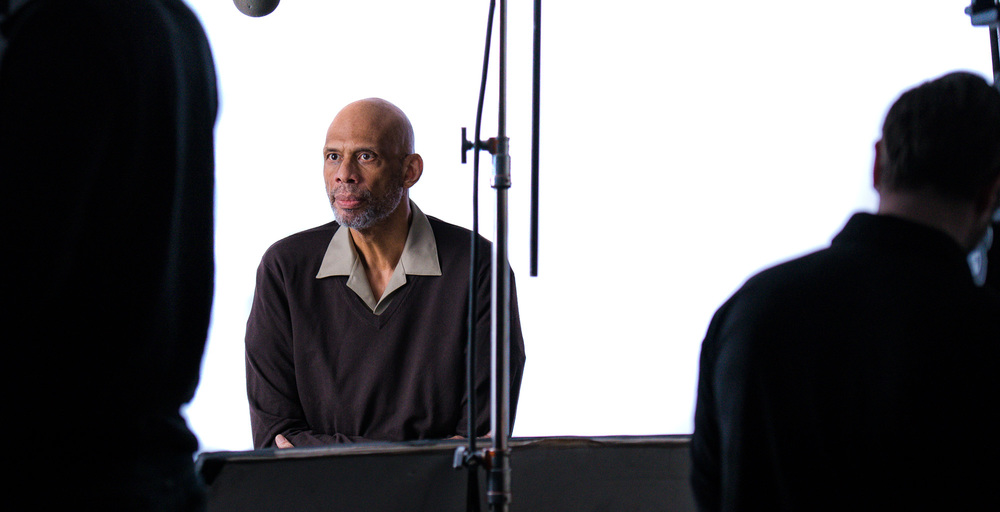 Kareem Abdul Jabbar for a Novartis PSA