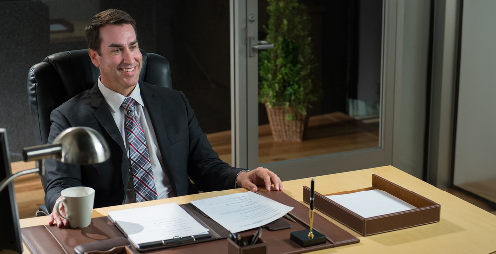 Rob Riggle in a PSA for The Easter Seals and The Dixon Center