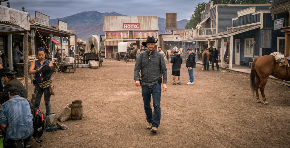 Director John Ealer on AMC's The American West