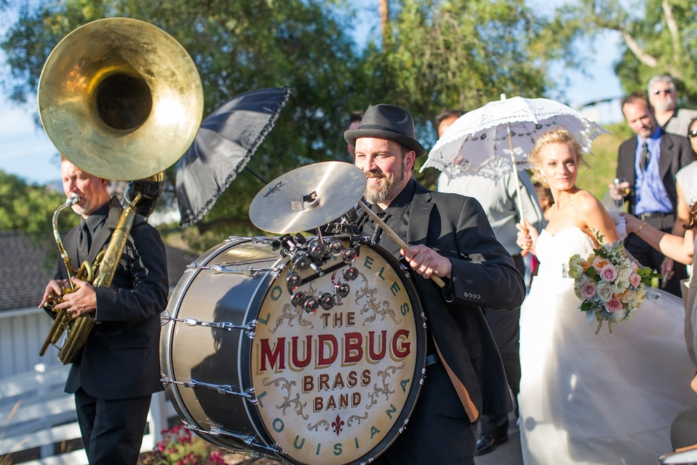 Emily and Matthew's Wedding 2: The Mudbug Brass Band!