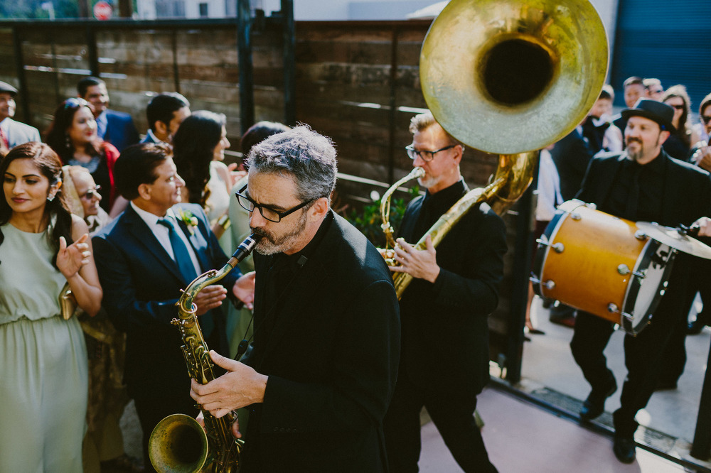 Andrew + Farheen Wedding! The Mudbug Brass Band