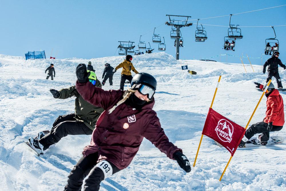 Riksgransen_Banked_Slalom