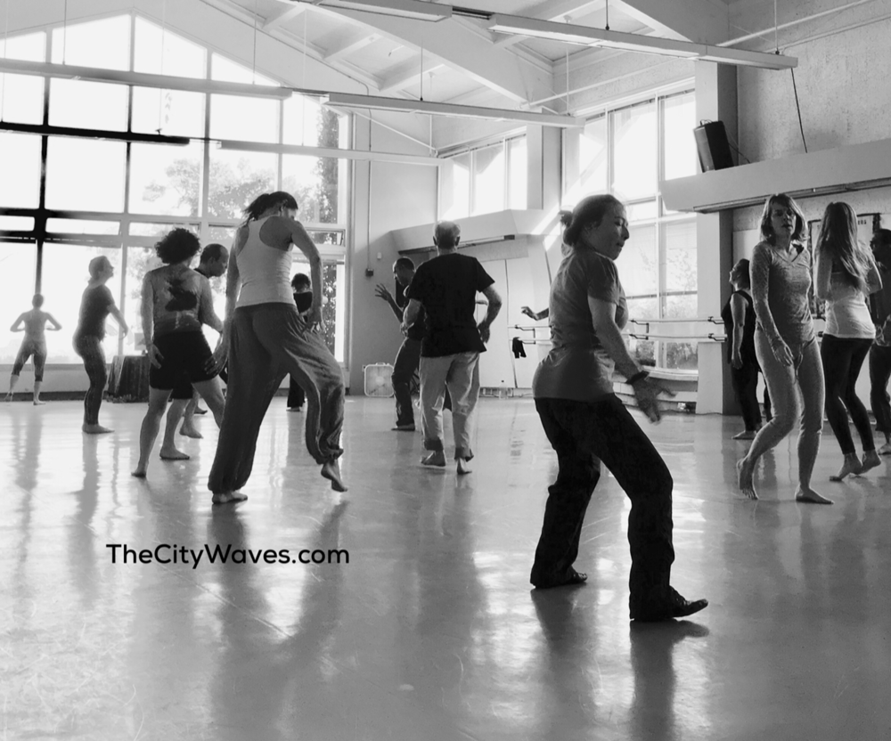 - What a great class and space! I love 5Rhythms for the movement, the music, the chance to go inward and then outward, and for the sheer pleasure and engagement. Vehllia and Alessandro create space where I learn, relax, explore, learn some more, and oh yes, dance my heart out. I get to both the Tuesday night class and the Sunday morning Sweat Your Prayers as often as I possibly can.  - Deborah G F.