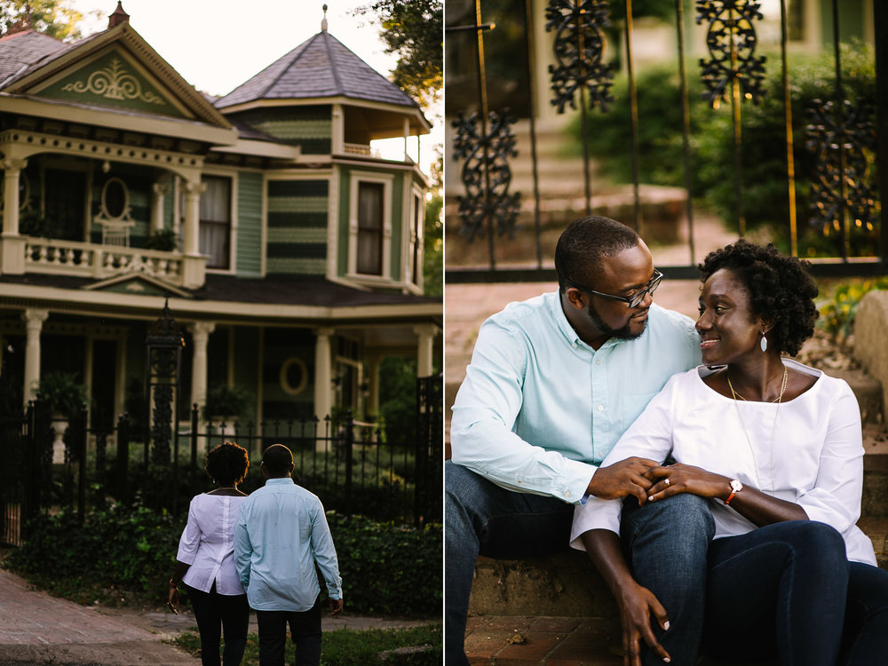 Engagement Session in Inman Park