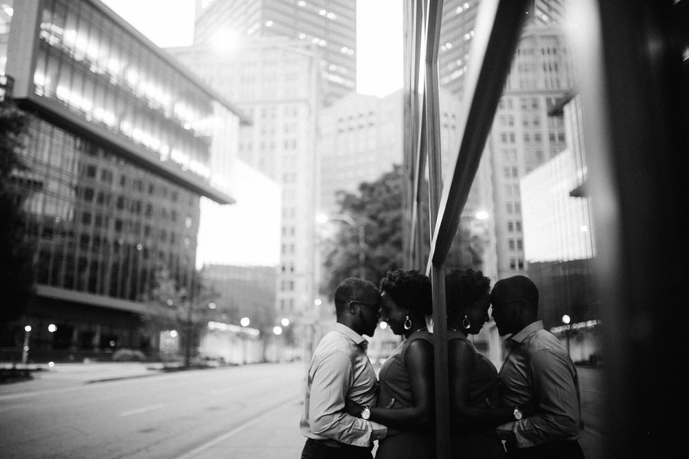 Engagement session downtown Atlanta
