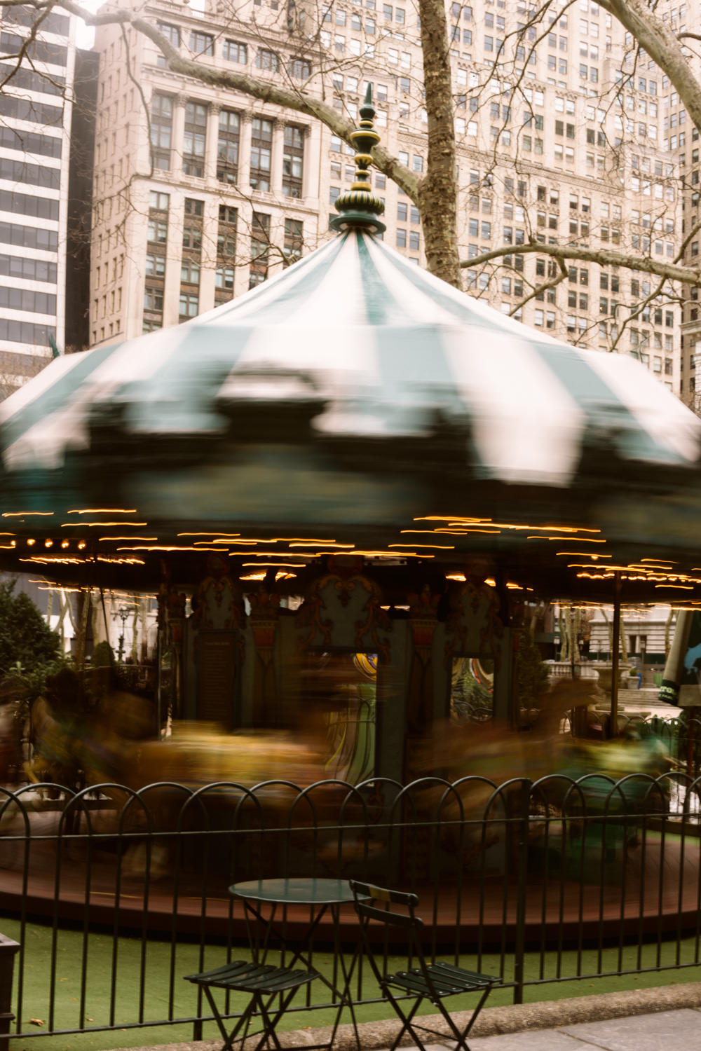 Bryant Park New York Wedding Photographer