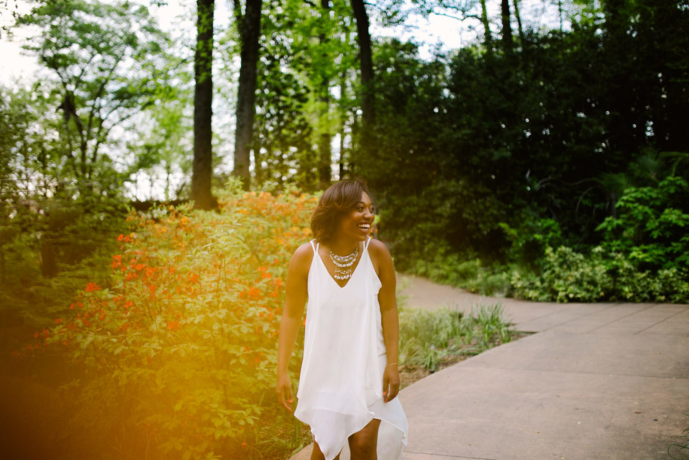 Atlanta botanical garden photoshoot