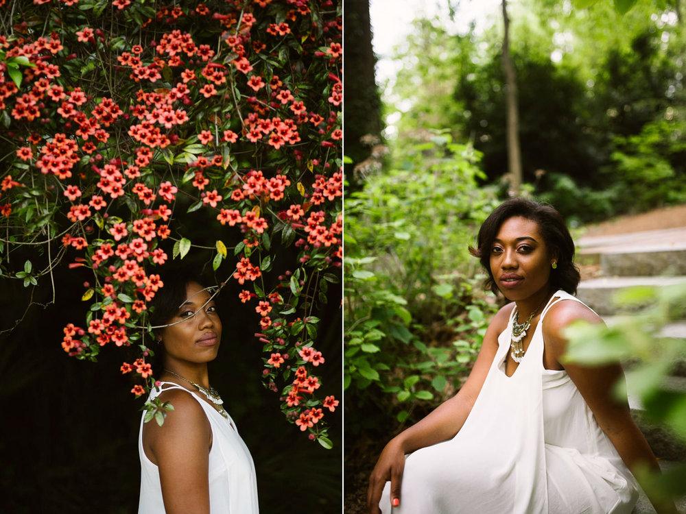 Atlanta botanical gardens photos