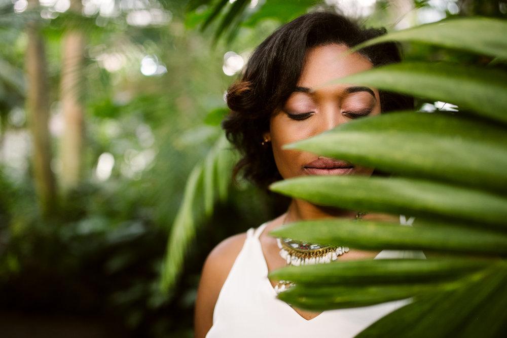 Atlanta Botanical gardens shoot