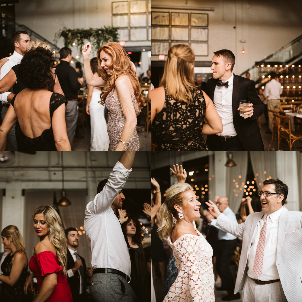 Reception dancing at this Battello Wedding in Jersey City, NJ