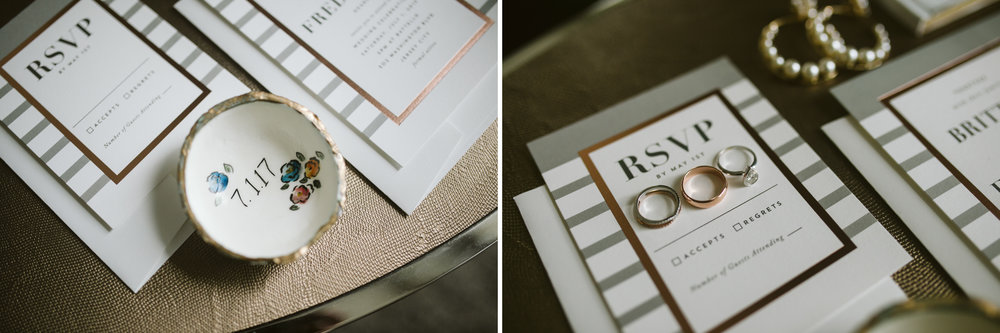 It's all in the details at this Battello Wedding in Jersey City, NJ
