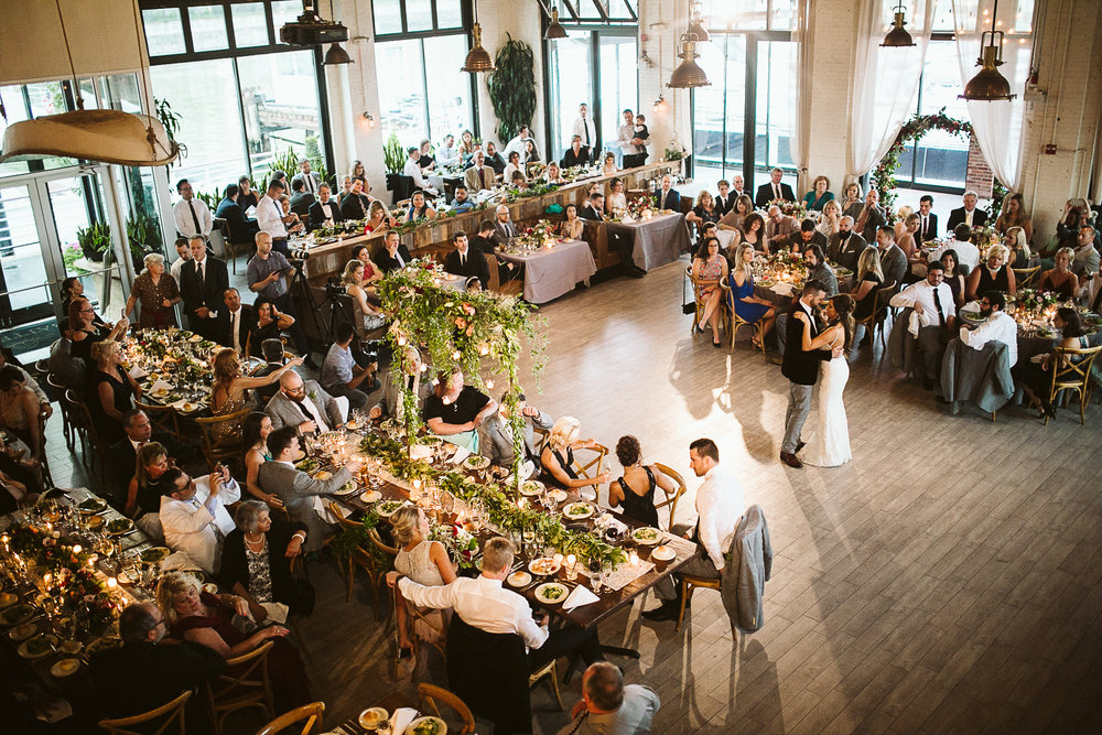 Battello Restaurant Wedding in Jersey City -