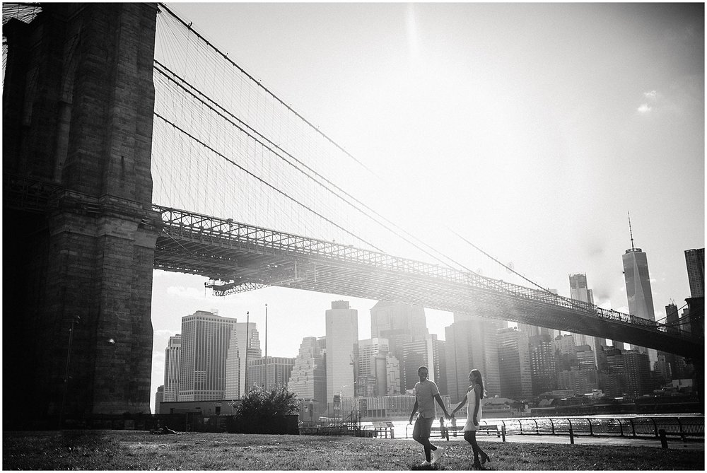 DUMBO NYC Couple's Session