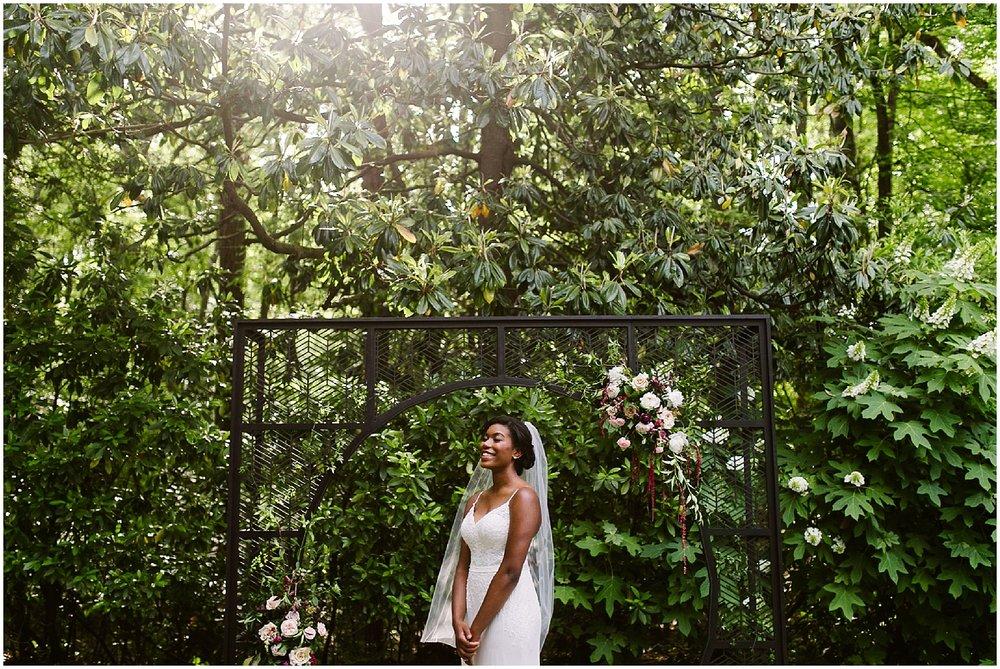 black bride at swan coach house