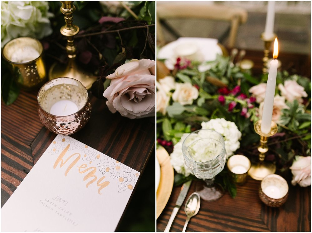 swan coach house table decor photo