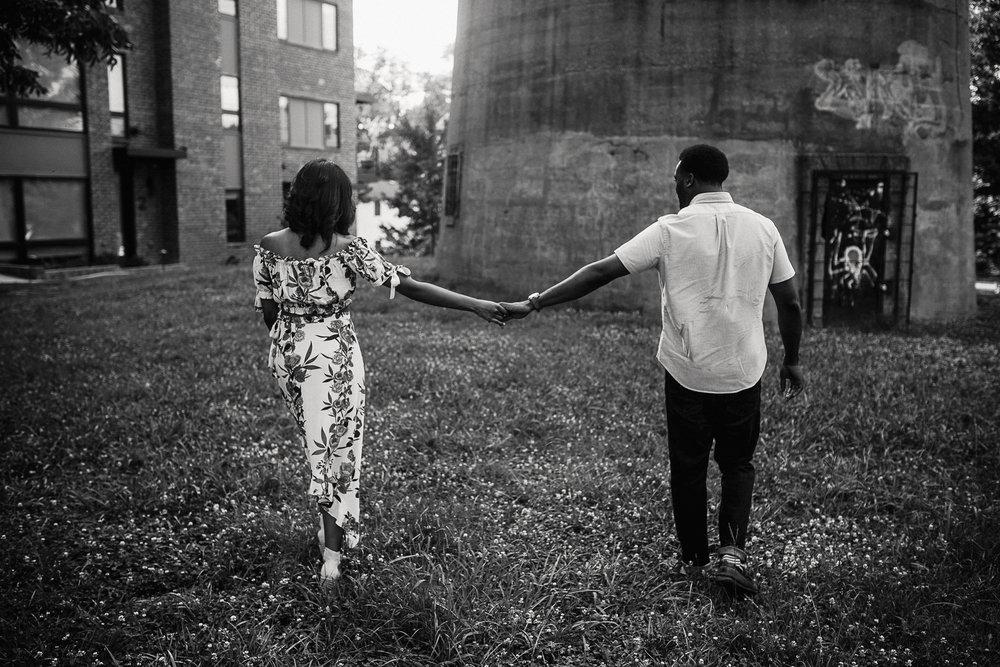 Old Fourth Ward Atlanta Engagement Session -