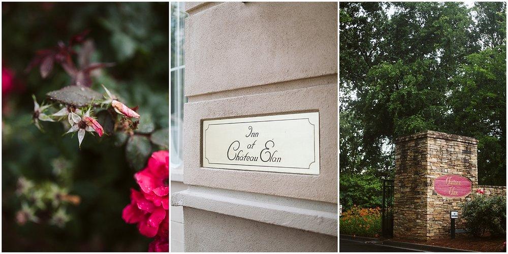 florals at chateau elan