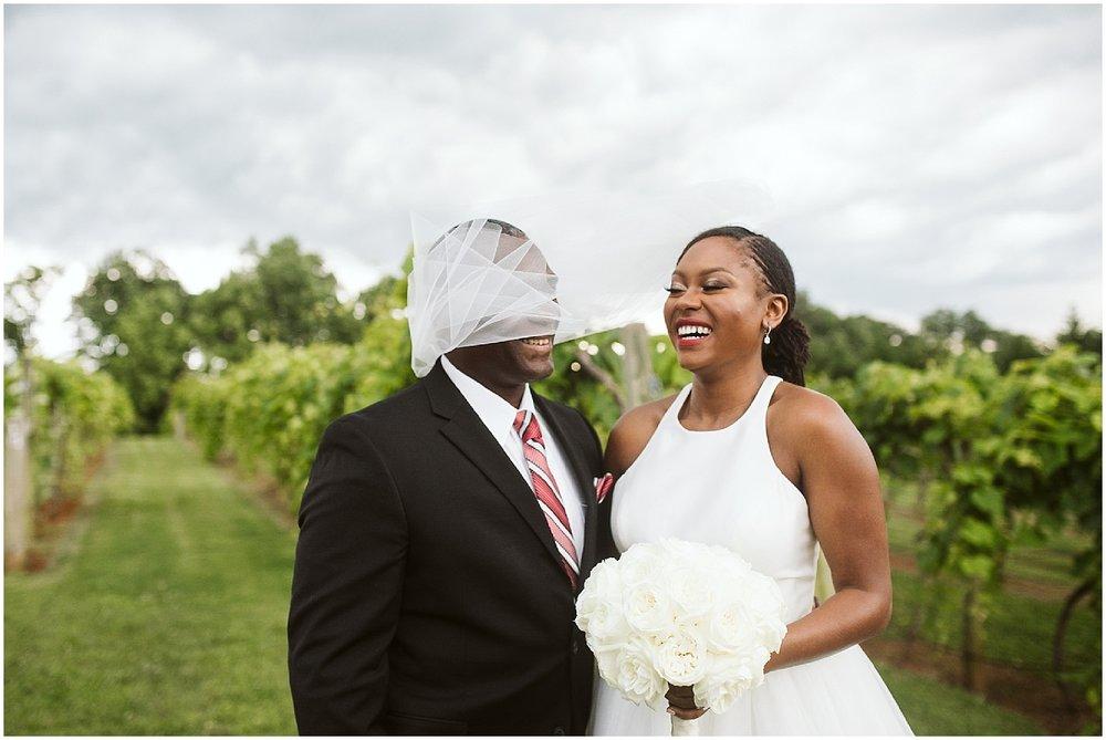 bride and dad at chateau elan wedding