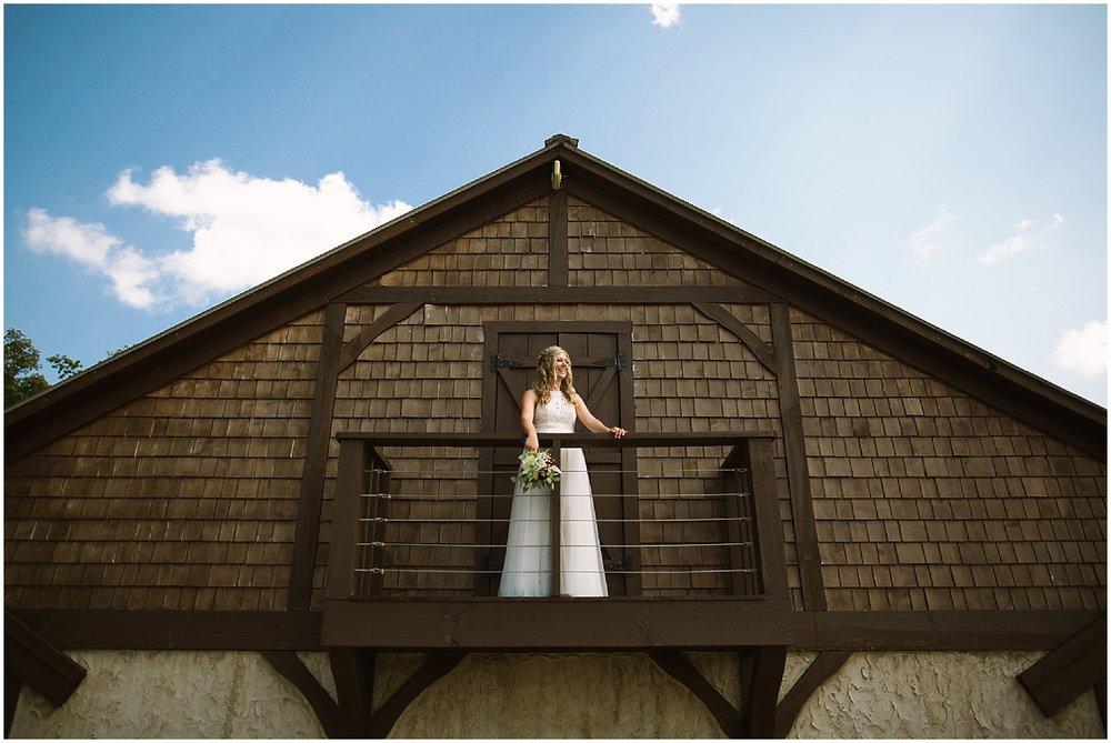 bride at debarge winery wedding