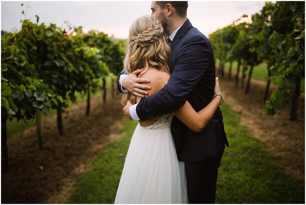 fall wedding at debarge vineyard