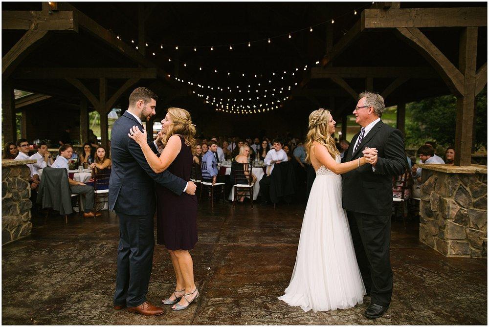 wedding dance at debarge winery