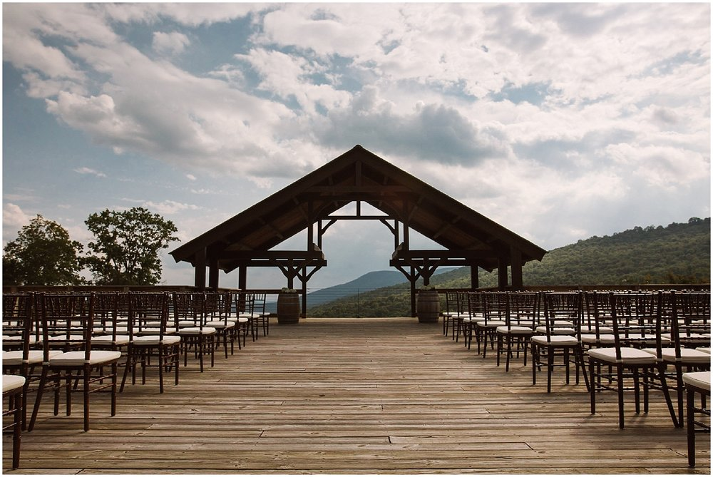 outdoor fall ceremony debarge winery wedding