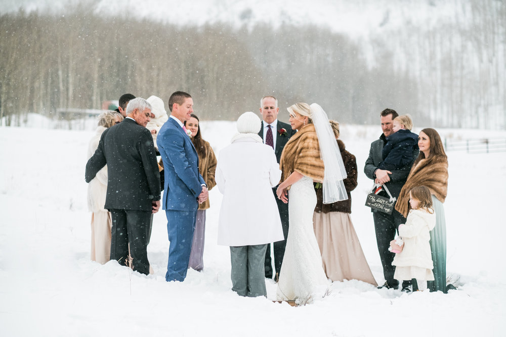 Aspen, Colorado Winter Wedding