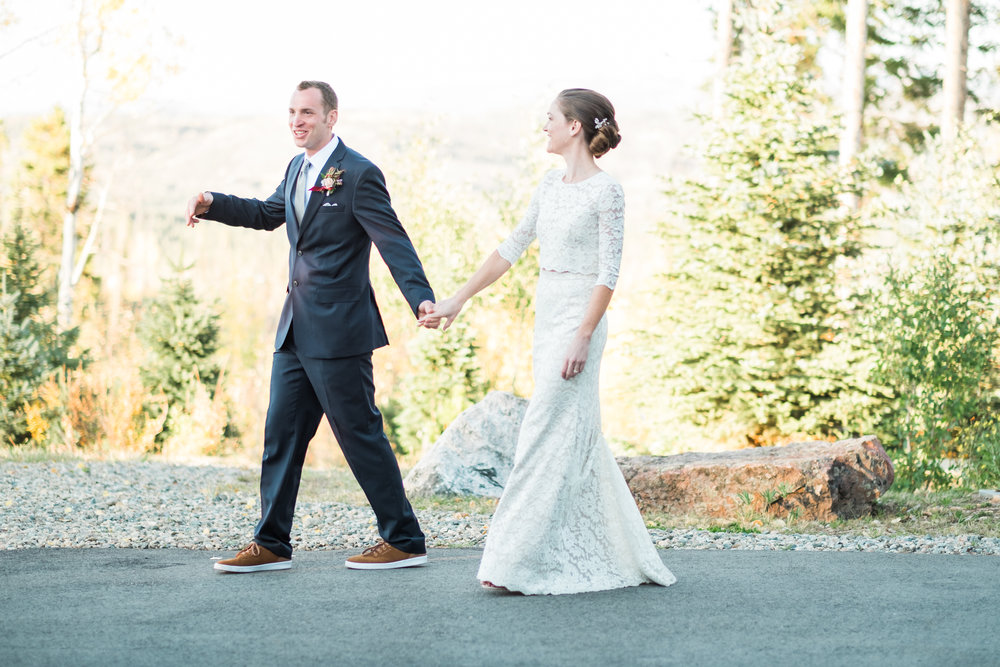 Tabernash, Colorado Autumn Wedding
