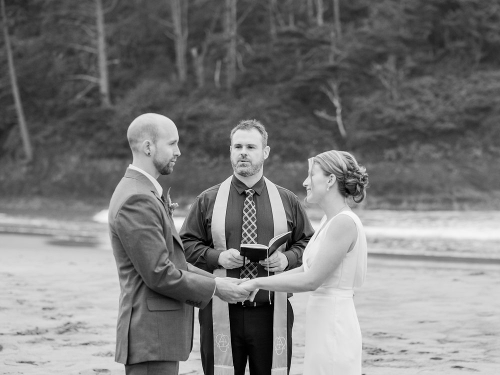 Neskowin Oregon Wedding at Proposal Rock