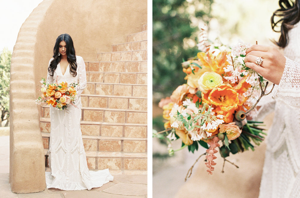 Santa Fe Wedding Editorial featured on Wedding Sparrow by Tara Bielecki Photography