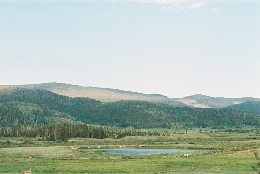 Devils Thumb Ranch Wedding from Fine Art Film Photographer Tara Bielecki Photography