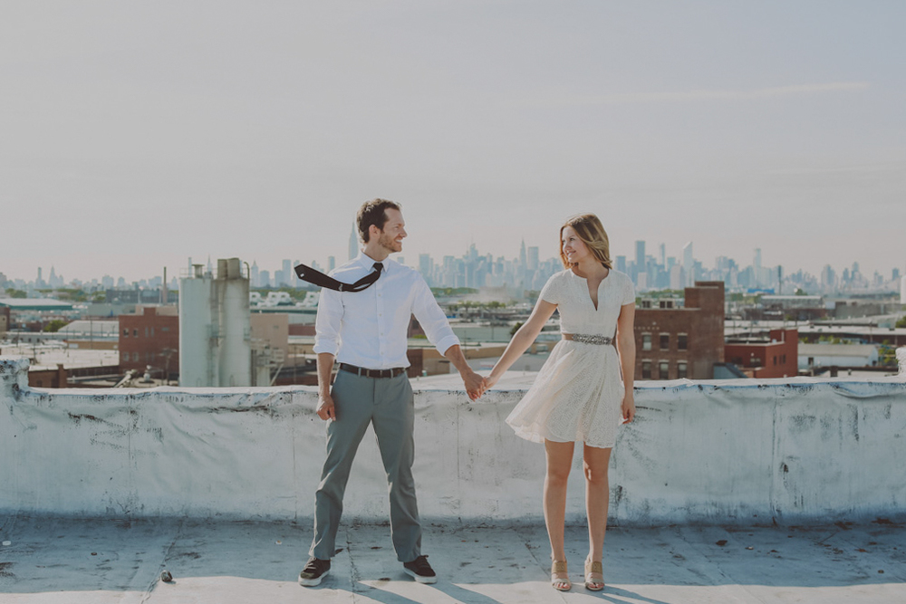 Bushwick engagement shoot patina rentals brooklyn couple photography wedding chellise michael -120.jpg