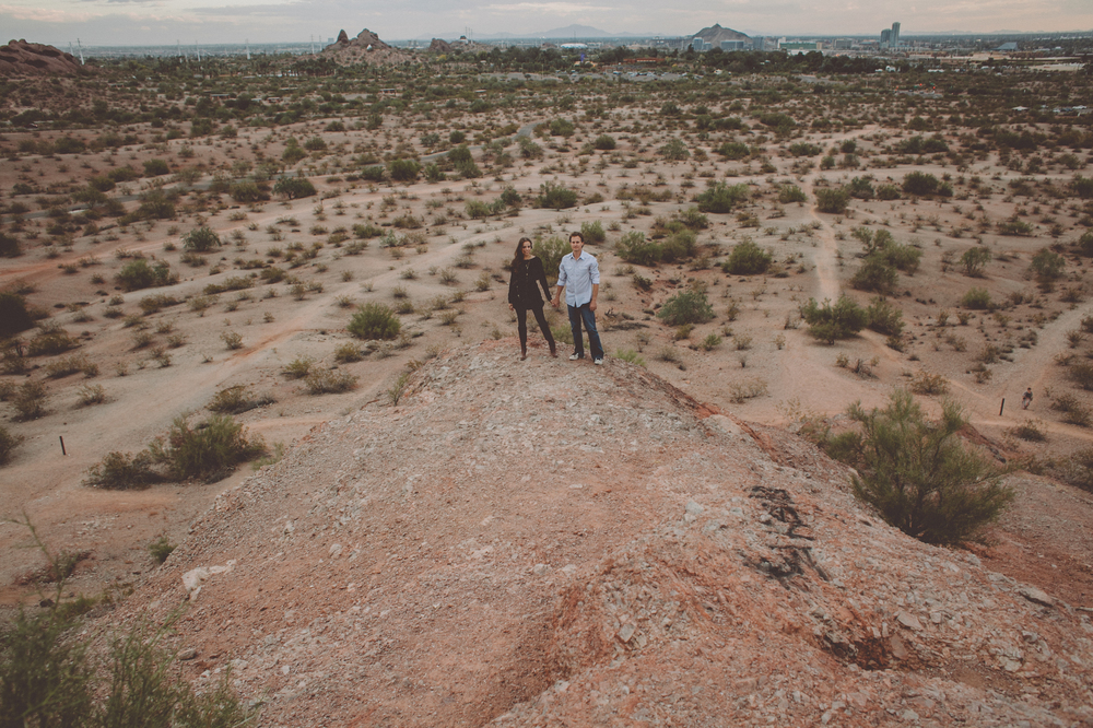 phoenix arizona buttes downtown desert engagement chellise michael photography-214.jpg