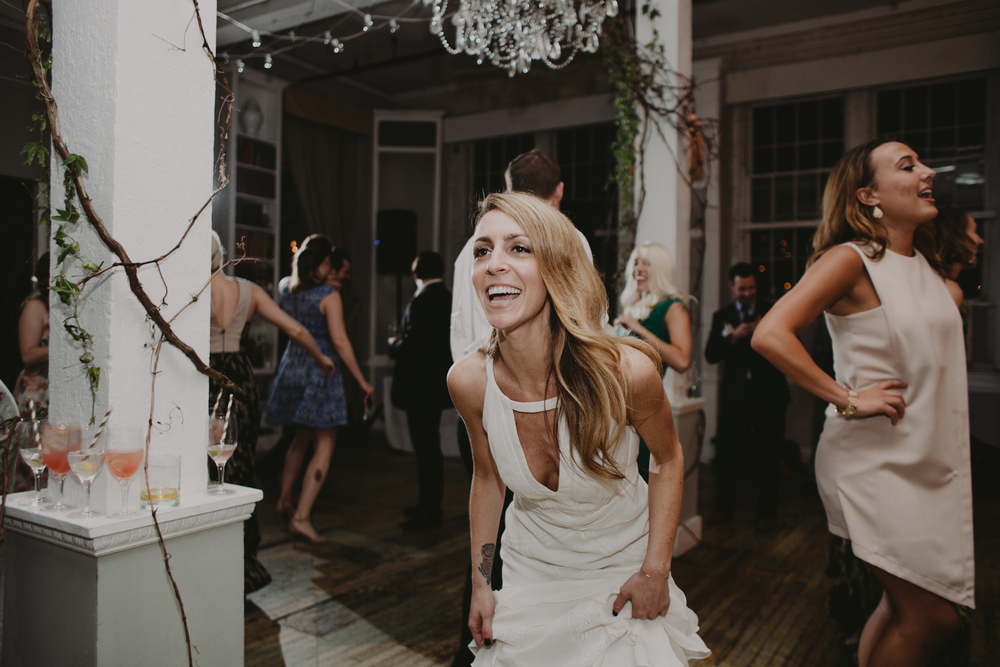 the metropolitan building lic wedding photographer indie bride hipster wedding